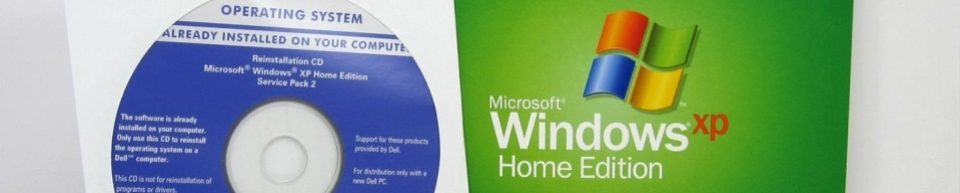 Windows XP Box & Disc