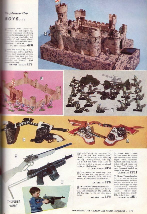 Littlewoods Catalogue - Castles