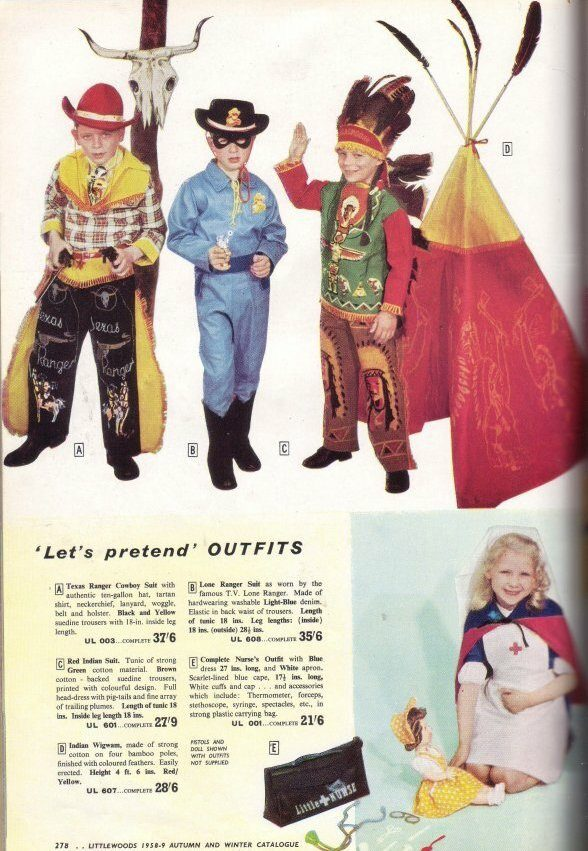 Littlewoods Catalogue - Cowboys and Nurse