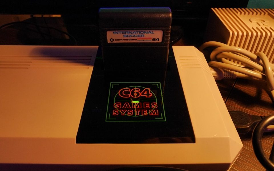 Commodore 64GS Cartridge