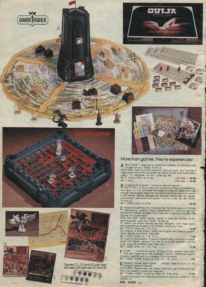 Wards 1981 Christmas Catalogue - Dark Tower