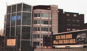 CD32 Billboard Outside Sega HQ