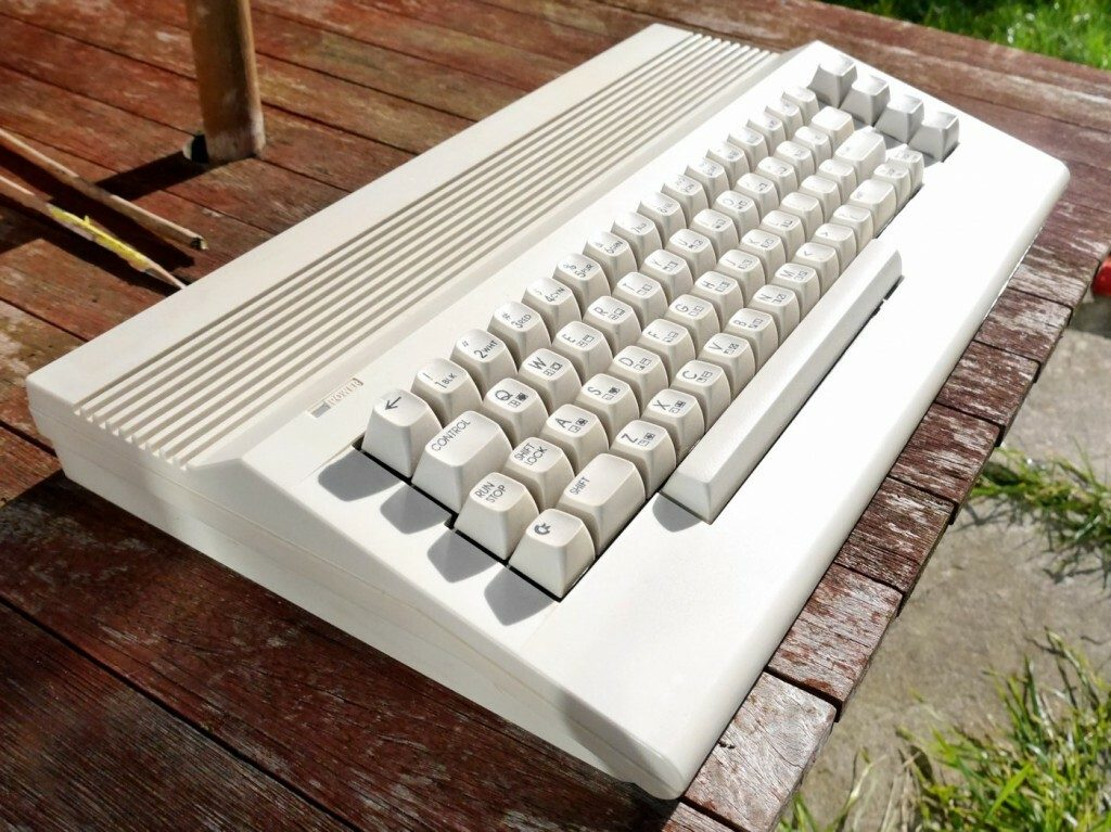 Commodore 64C Outside