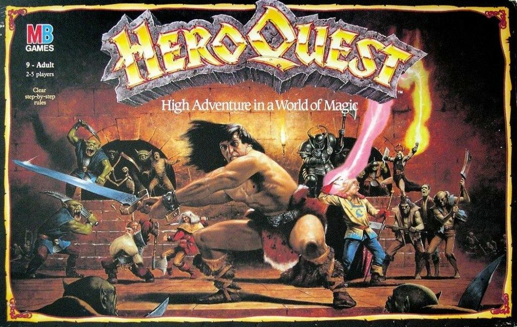 HeroQuest Box