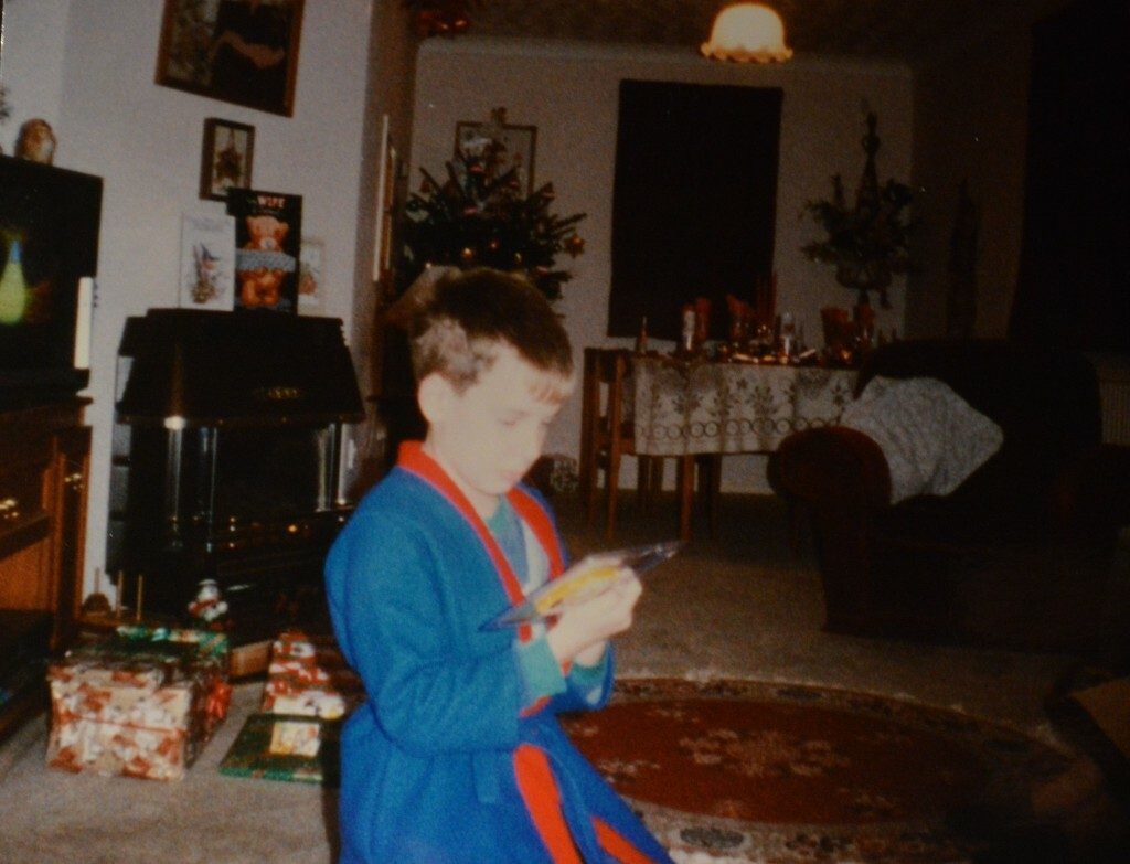 Nostalgia Nerd on Christmas Morning 1991