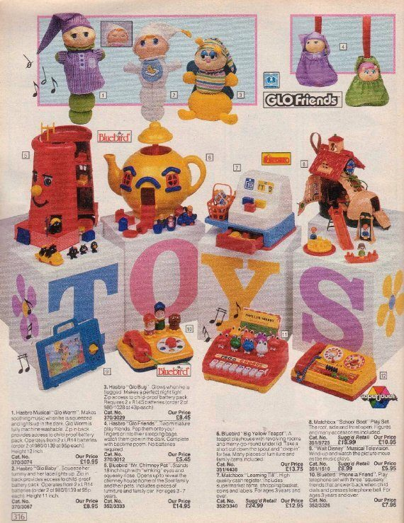 90s Argos Catalogue Mr. Chimney Pot