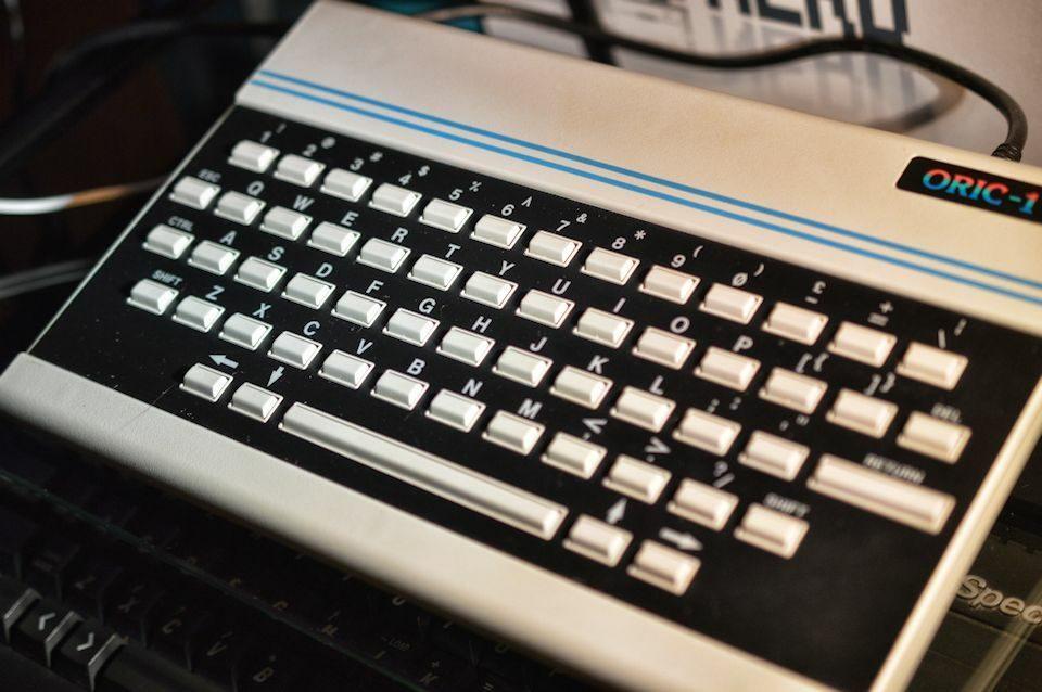 Oric 1 Keyboard