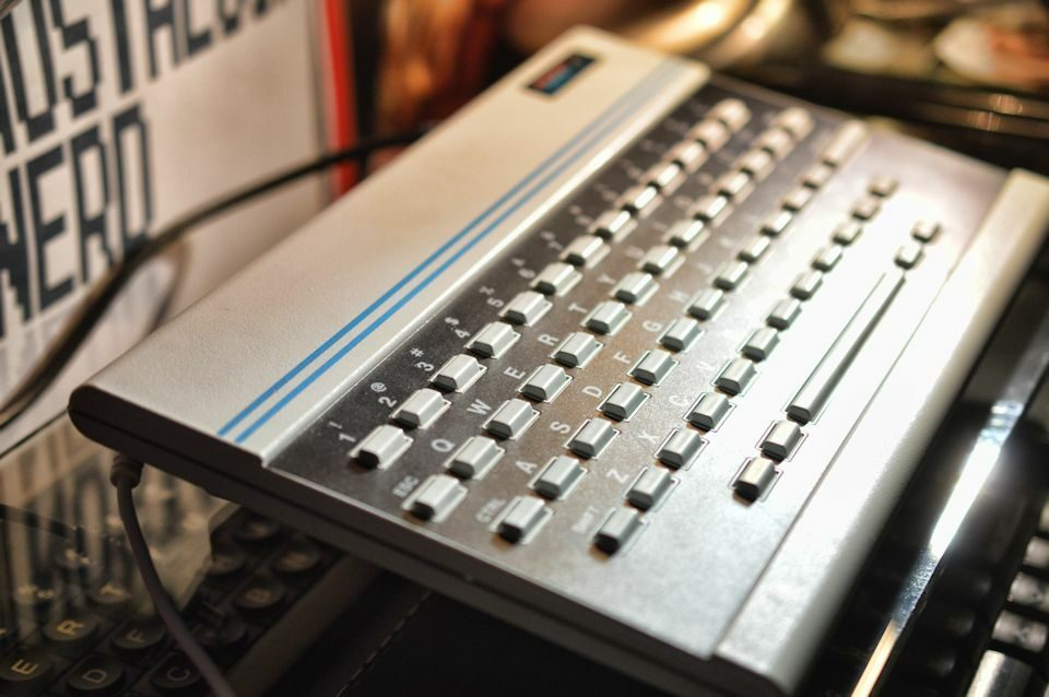 Oric 1 Close Up