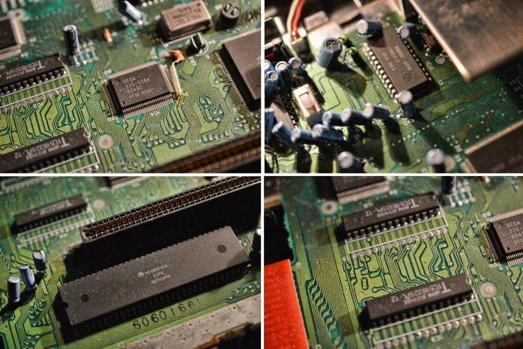 Mega Drive Components