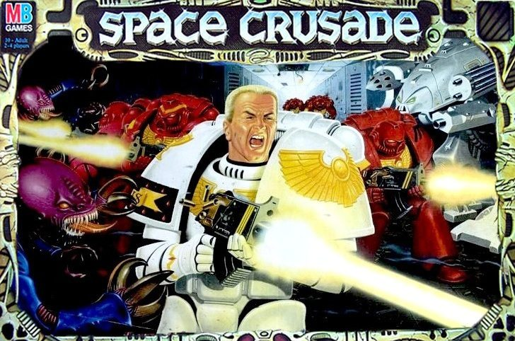 Space Crusade Box