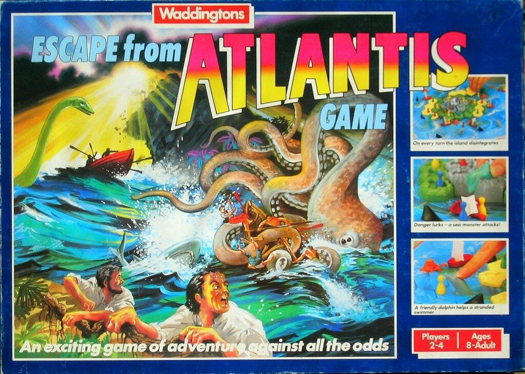 Escape From Atlantis Box