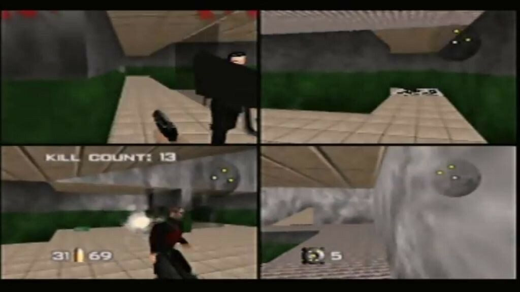 Goldeneye 4 Player