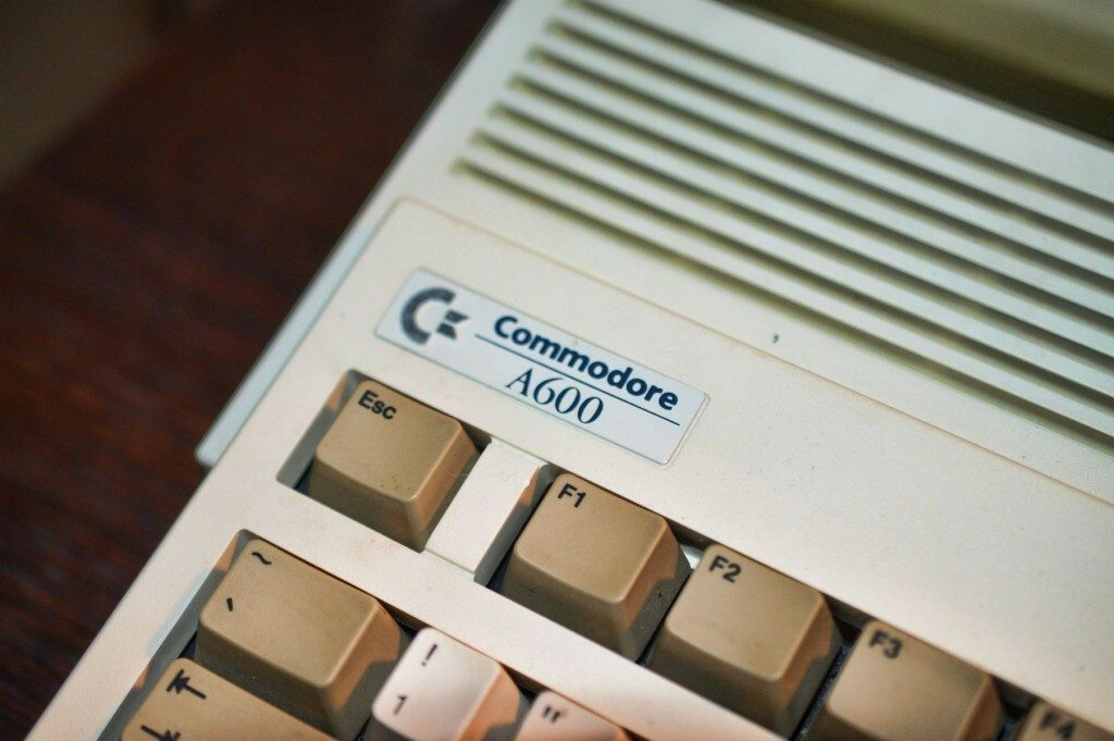 Amiga 600 Badge