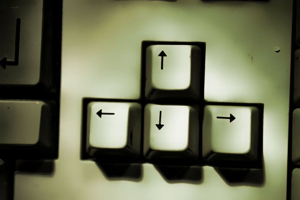 Amiga Arrow Keys