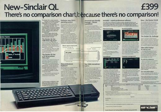 Sinclair QL Advert