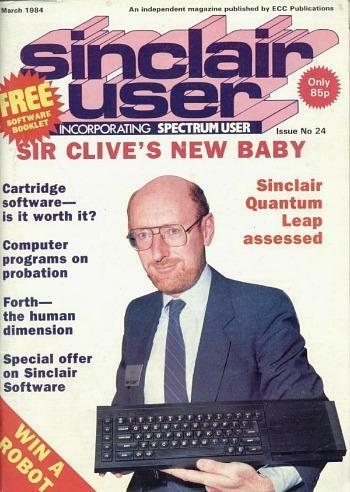 Clive Sinclair Magazine