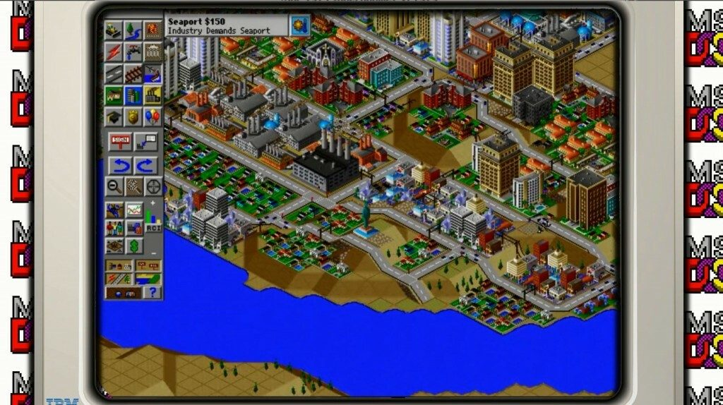 Sim City 2000 for DOS