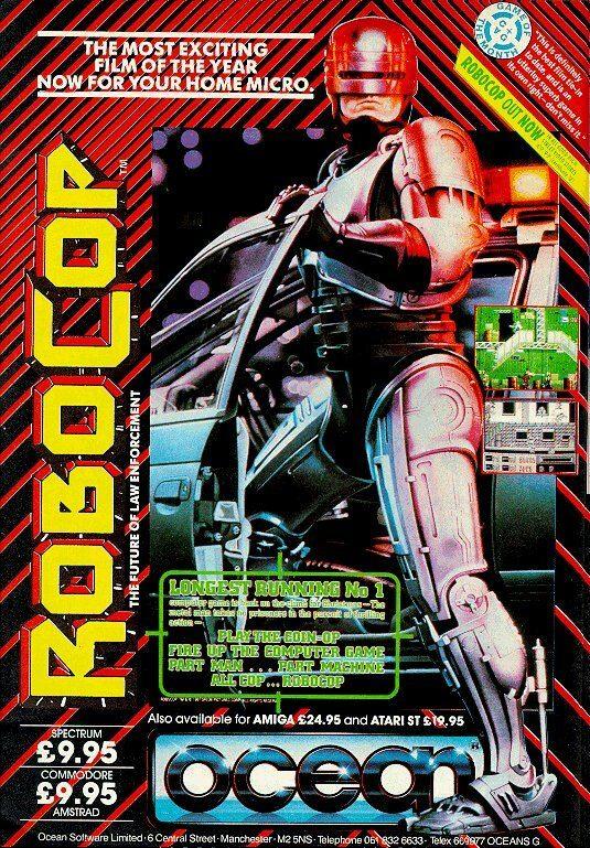 Robocop Spectrum Poster