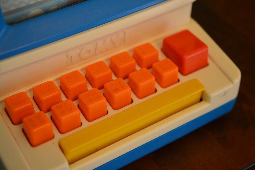 Tomy Tutor Keyboard