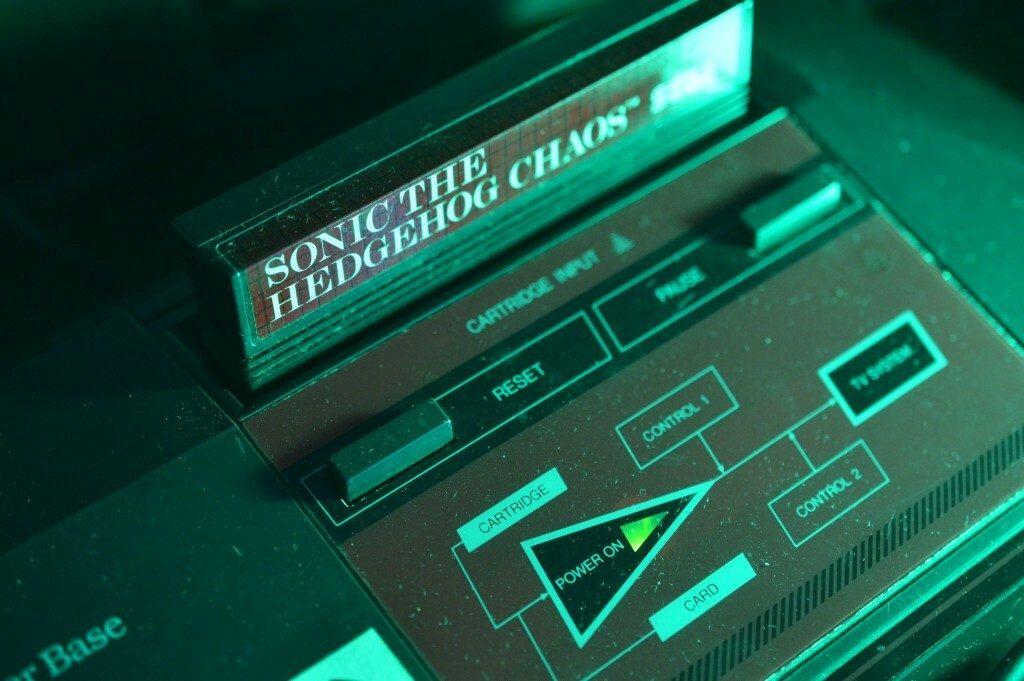 Sega Master System & Cartridge