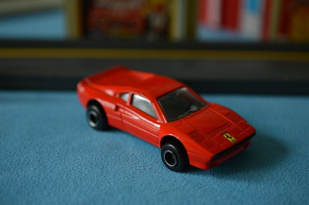 Ferrari GTO Matchbox Car
