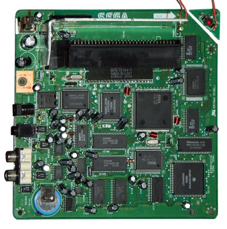 Mega CD Motherboard