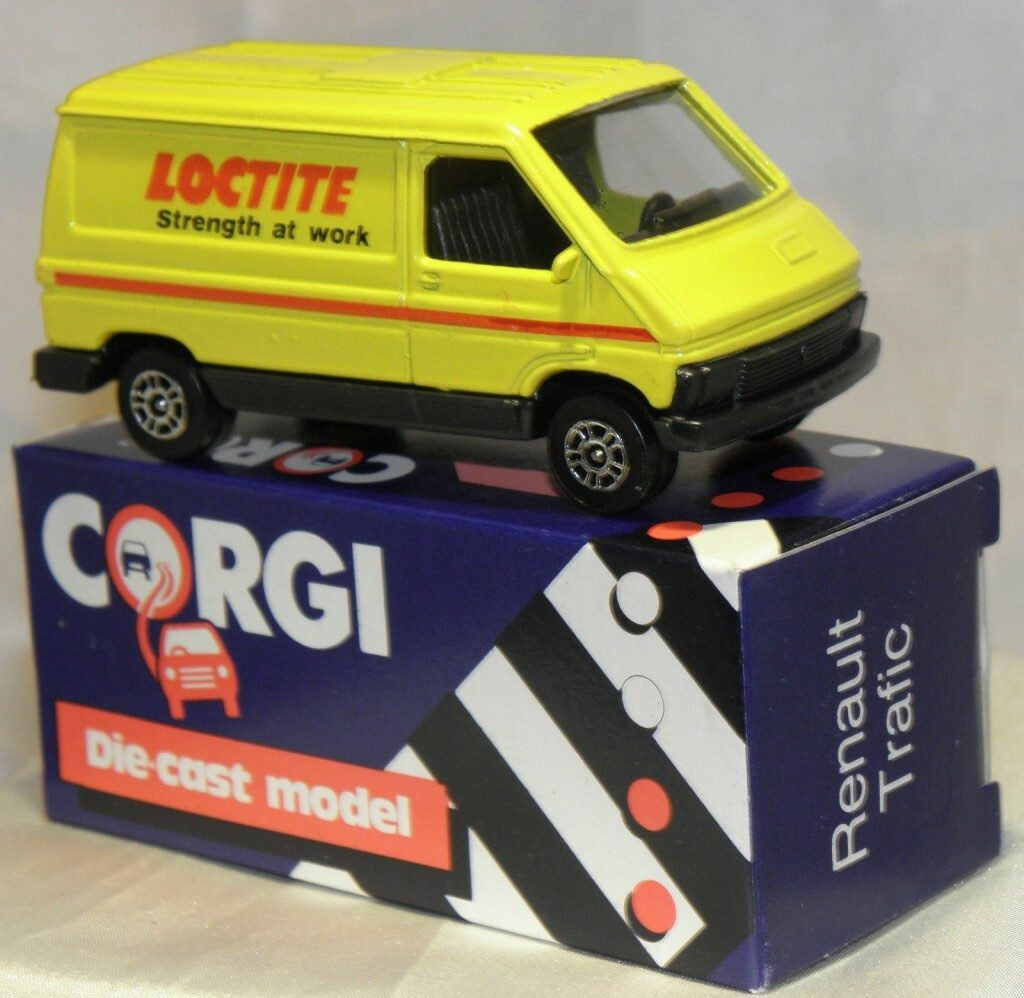 Renault Traffic Corgi Car