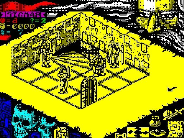 Hero Quest on the Spectrum