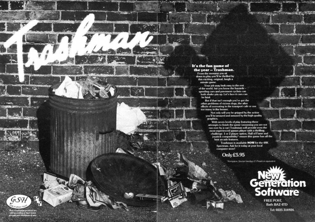 Trashman Advert