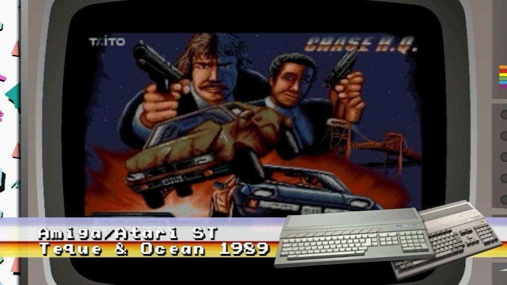 Chase HQ Atari ST Amiga