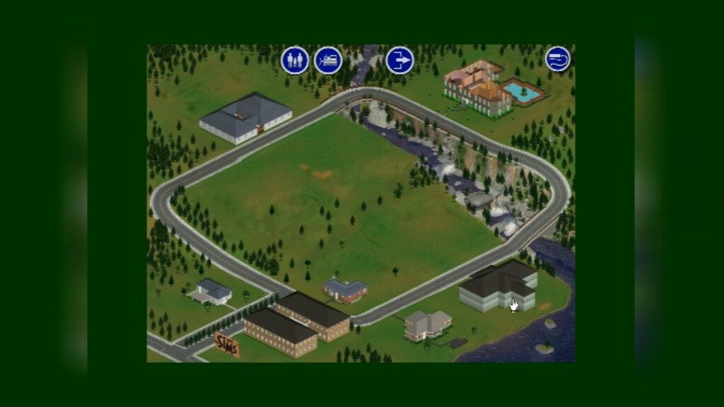 Sims 1 Neighbourhood