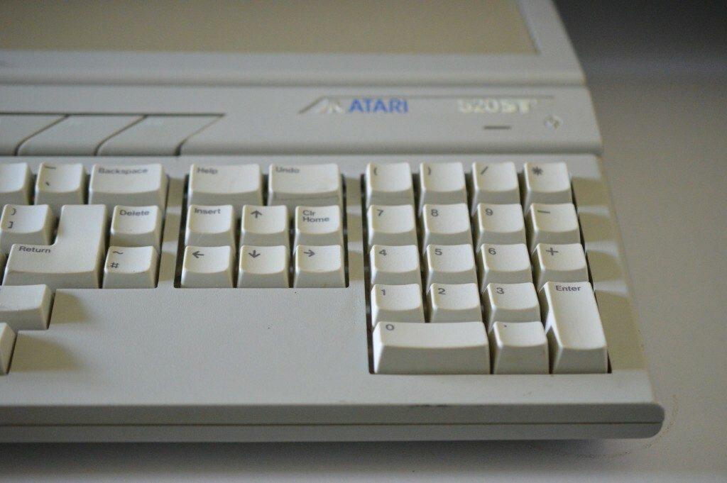 An Atari ST