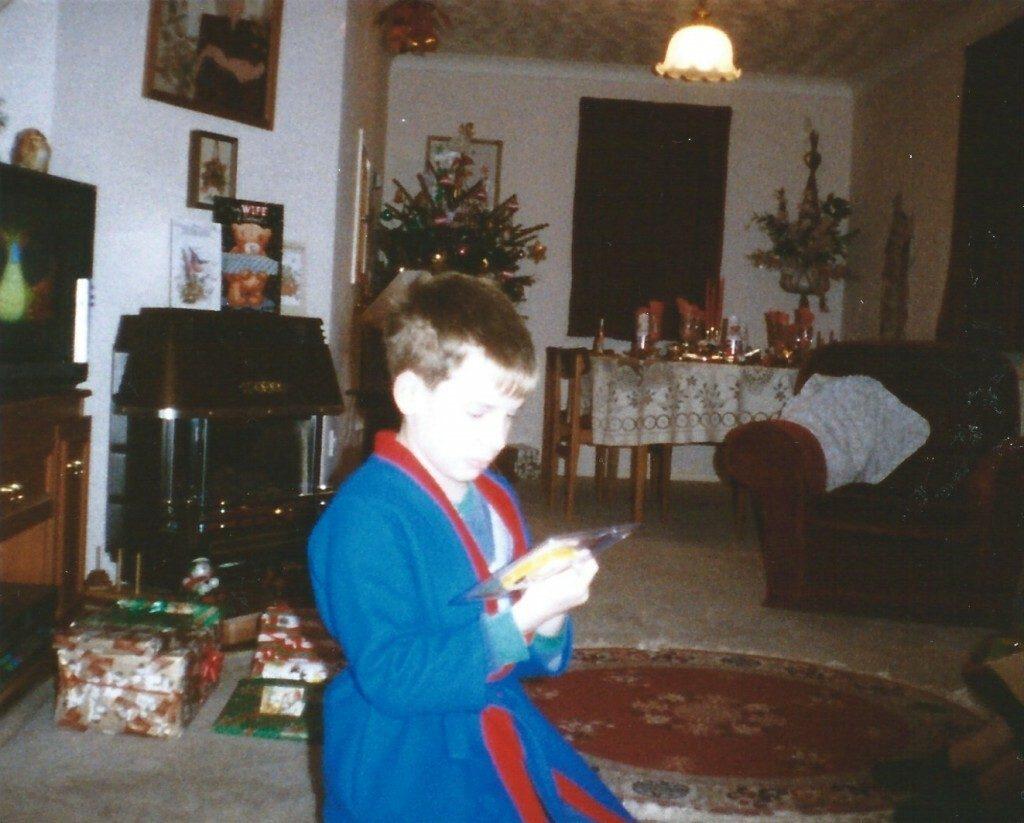 Me at Christmas
