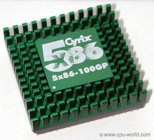 Cyrix 5x86 Processor