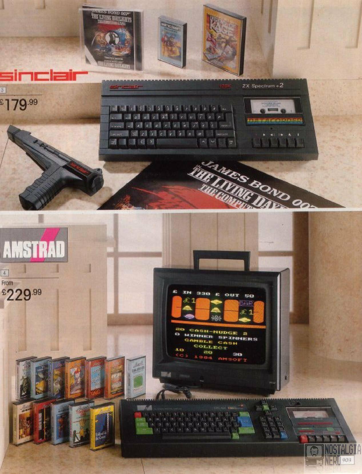 Spectrum & Amstrad Winter Catalogue