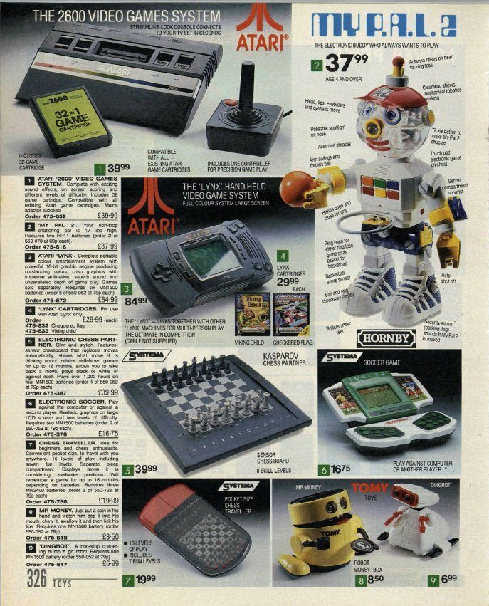 Index Catalogue 1992 - Atari