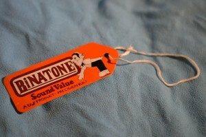 Binatone TV Master Label