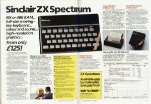 Sinclair Spectrum Advert