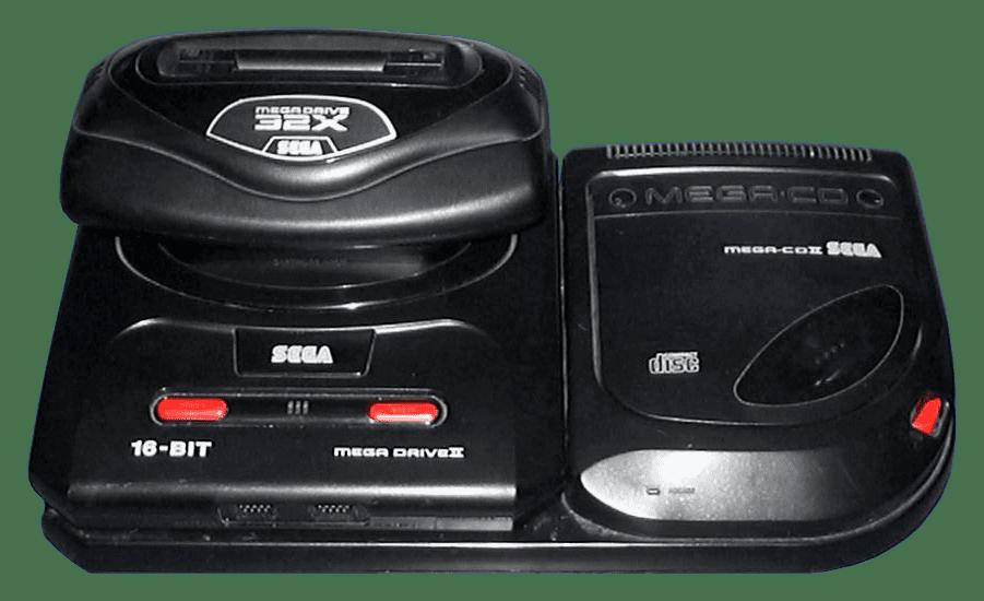 Megadrive MegaCD & 32X