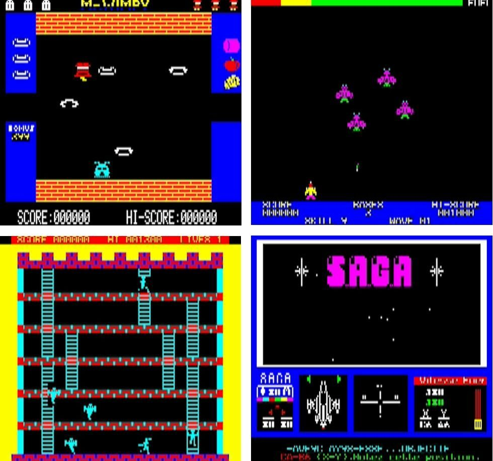 Oric 1 Games