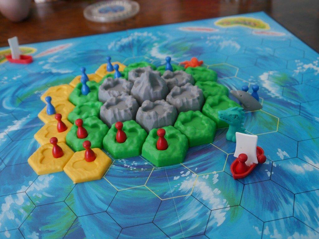 The Rapidly Disintegrating Island
