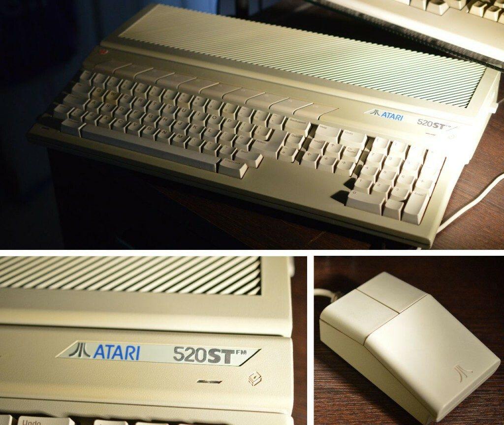 Atari ST Montage