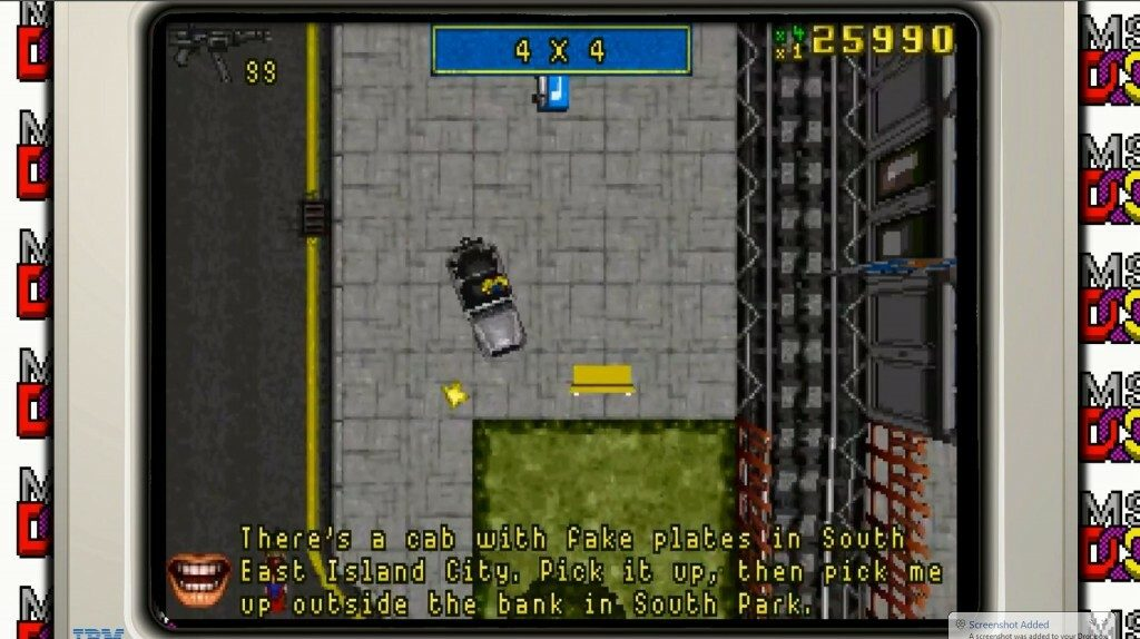 GTA for DOS