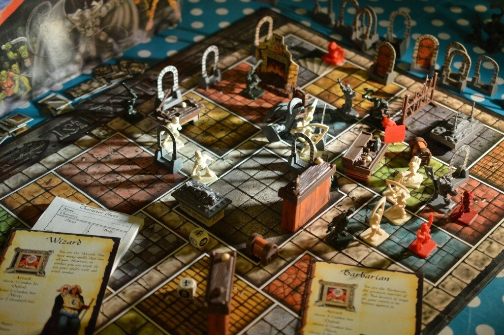 Hero Quest Game Board