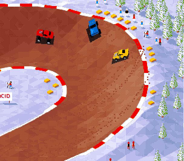 Skidmarks on the Amiga