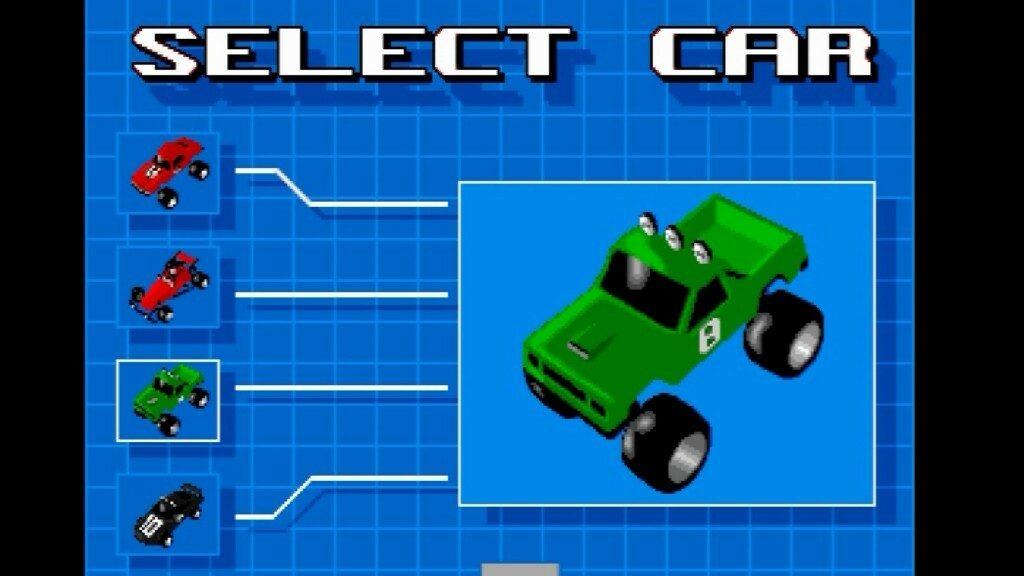 Select Car Menu