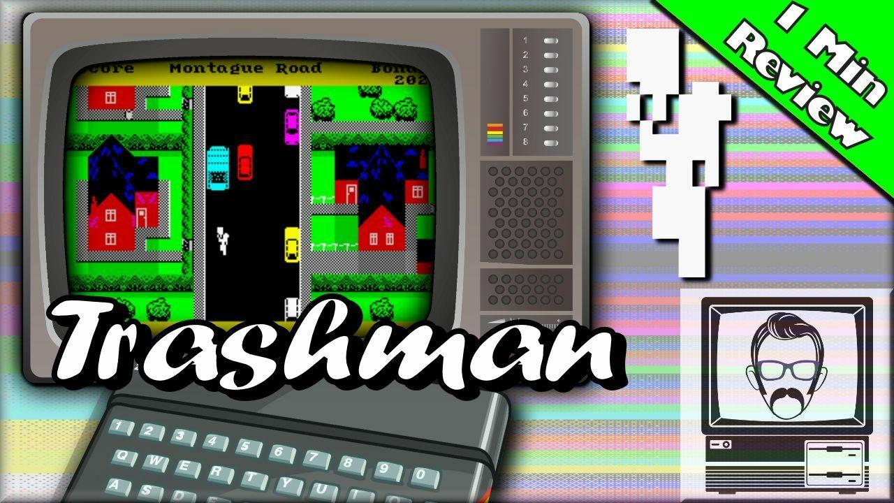Trashman ZX Spectrum