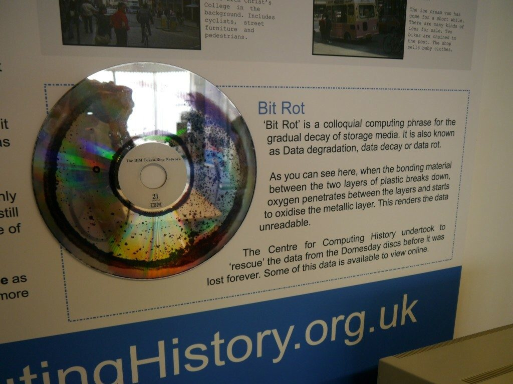Bit Rot Domesday Disk