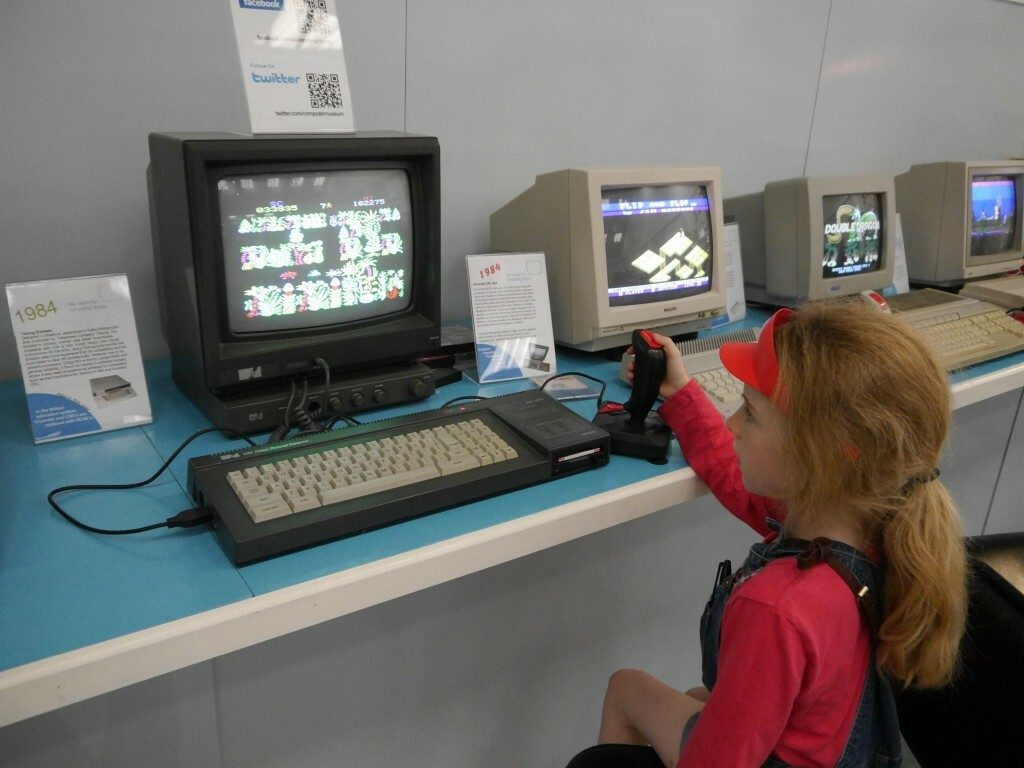 An Amstrad CPC with Sabre Wulf