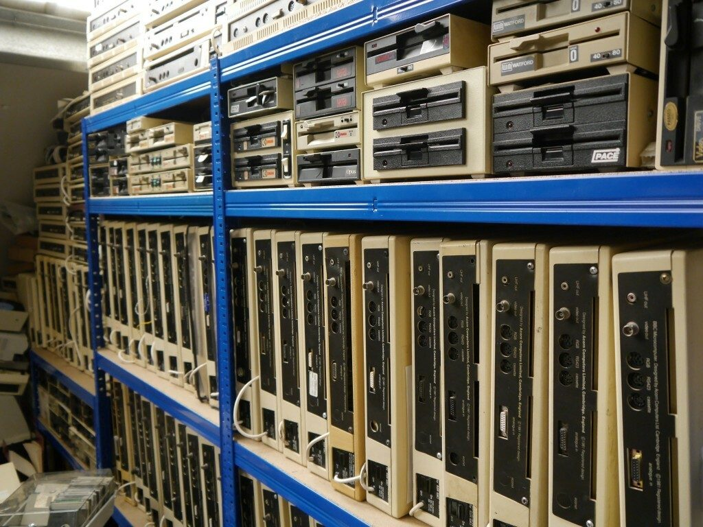 Rack of BBC Micros